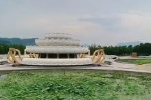 九华山大愿文化园,壮观的地藏王圣像