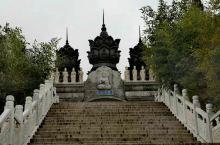 崂山华严寺的秋色