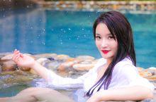 山湖温泉月 秘境玻璃池
