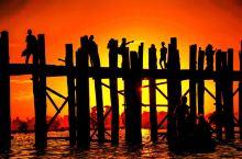 情定乌本桥,世上最美的日落之一