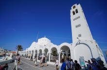 圣托里尼岛的明珠-悬崖上的Fira费拉小镇!