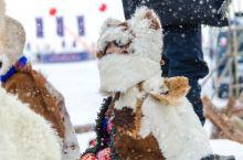 #最美冬季雪景#冬季那达慕,冰雪上的盛会