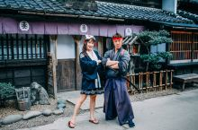 #旅拍穿搭技巧# 只要和服选的好,让你一秒穿越回到江户时代