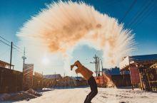 在零下50度的风景里泼水成冰,人均4k来看中国最美的冬天!