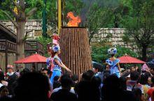 #元旦去哪玩#桂林千古情有趣的外场表演