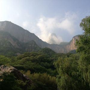 八里沟景区旅游景点攻略图