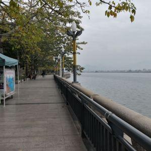 潮州西湖旅游景点攻略图