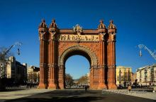 巴塞罗那凯旋门:红砖造型里的大志气和小秘密