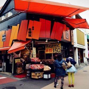 镰仓小町通旅游景点攻略图