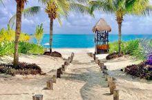 """墨西哥旅行——自由的坎昆,在坎昆你可以在无边无际的大海体验""""只缘身在此海中""""来感受自己的渺小。 但在"""