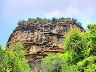 麥積山石窟