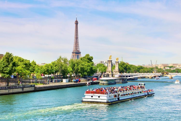 Seine River tour boat