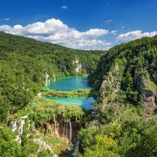 普利特维采湖群国家公园图片