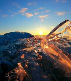 [贝加尔湖游记图片] 冬日贝加尔湖的冰雪奇缘