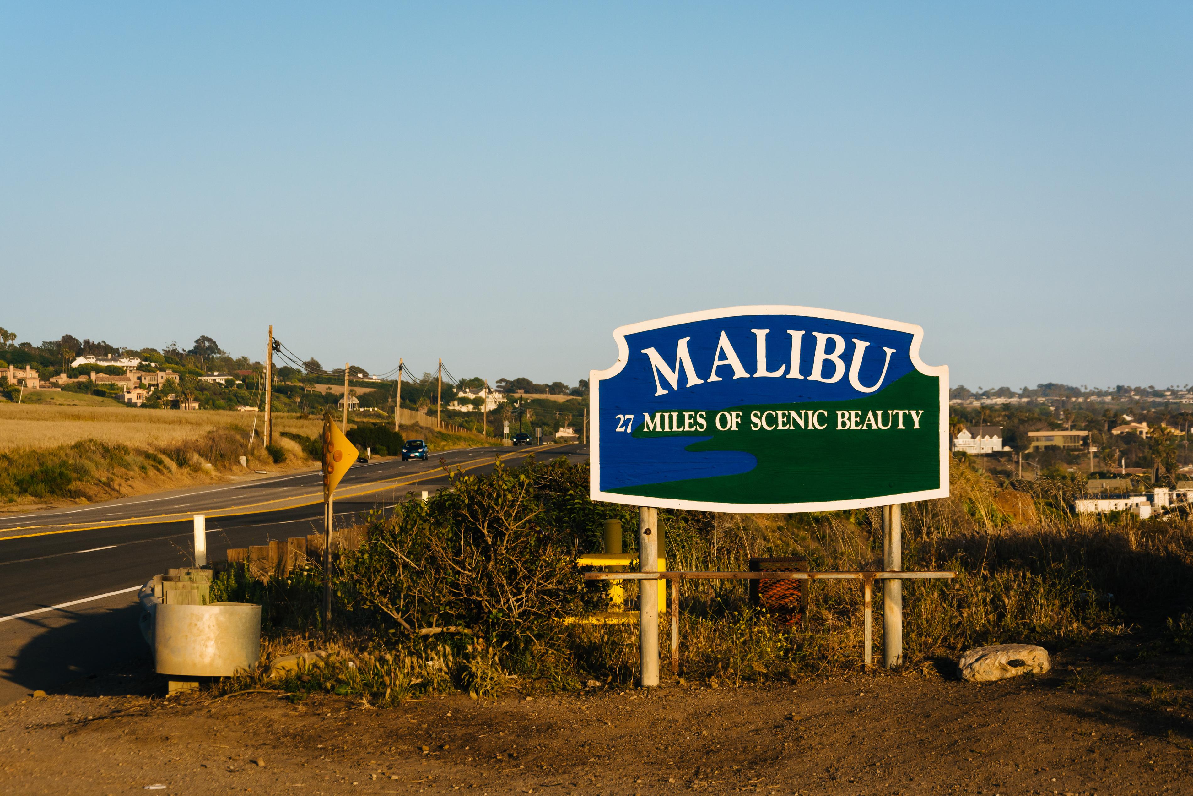 马里布海滩旅游景点图片