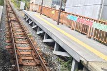 登上箱根 干净的小火车