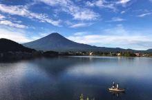 富士山的初秋与寒冬