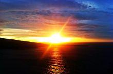 日落圣托里尼