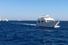 红海上的游艇 在埃及红海拍摄的各类游艇
