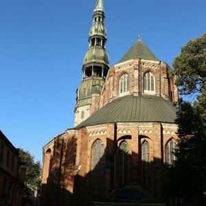 里加圣彼得大教堂旅游景点攻略图