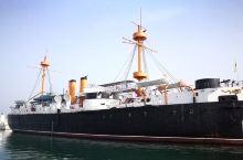 威海——定远舰 中国海疆行第十二天:威海——荣城  早洗车,去定远舰。九点多到,十点参观结束。去刘公