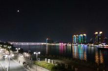 襄阳一桥夜景