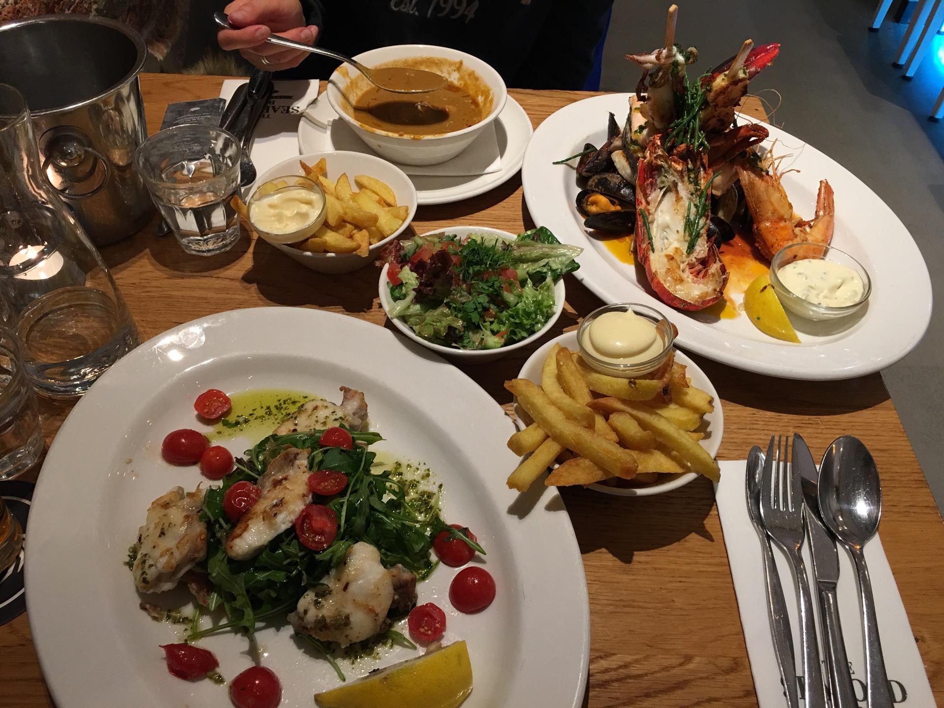 The seafood bar van baerlestraat for Seafood bar van baerlestraat amsterdam