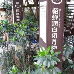 海棠晓月温泉旅游景点攻略图