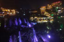 看芙蓉镇夜景瀑布最好的地方