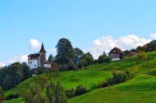 瑞士琉森皮拉图斯山金色环游