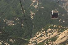 绝对不能错过的华山西峰索道