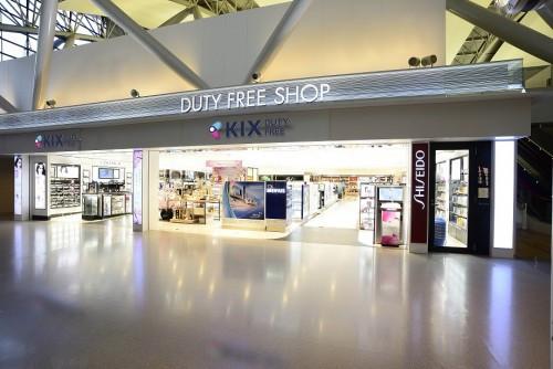 传说中从关西机场出国的4人中必有1人于此购物 关西机场KIX DUTY FREE