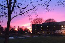 特拉华大学—黄昏美景
