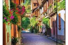 法国这座小镇,还原了上海人小时候看的动画片场景!