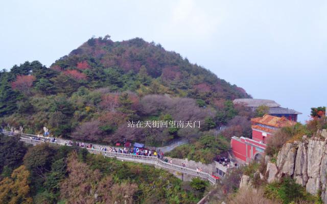 自由行-泰山景区旅游攻略之天烛峰游览线路游记