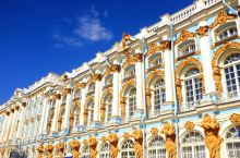 俄罗斯必打卡宫殿 | 叶卡捷林娜宫