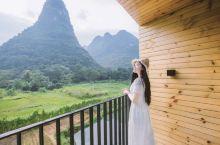 阳朔六甲酒店,推开窗便是风景