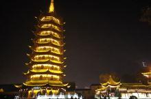 夜游淮安里运河文化长廊