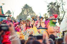 #在当地过节#偶遇西班牙三王节,属于孩子们的狂欢