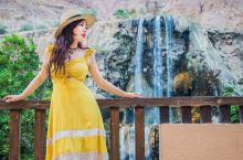 约旦山谷中的超酷温泉瀑布