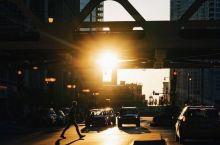 曼哈顿落日余晖,纽约最佳观看夕阳的方式