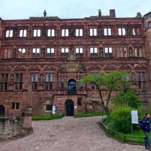 海德堡城堡旅游景点攻略图