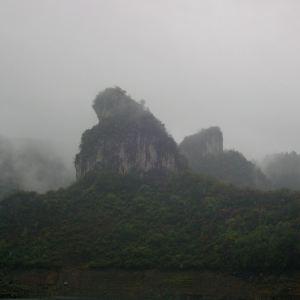 上舞阳河风景区旅游景点攻略图