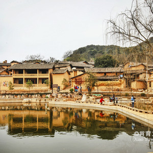 弥勒游记图文-云南最有烟火气的山村,马云的阿里巴巴也来投资,墙上画着传奇