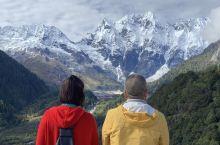 帕隆藏布、普龙寺与朱西冰川