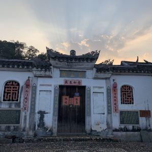 培田古民居旅游景点攻略图