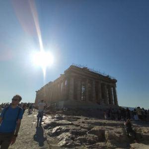 帕特农神庙旅游景点攻略图