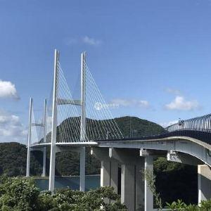女神大桥旅游景点攻略图