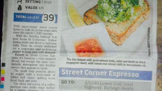 Street Corner Espresso