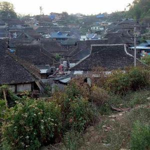 章朗村布朗族山寨旅游景点攻略图